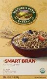 Nature's Path Organic Smart Bran, Psyllium & Oatbran Cereal, 10.6-Ounce Boxes (Pack of 6)