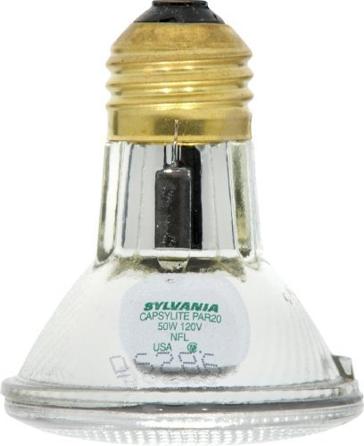 Sylvania 14502 50 Watt PAR20 Narrow Flood Light Bulb / 30 Degree Beam Spread / 120 Volt / 50PAR20