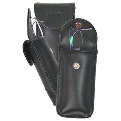 Leather Double Eyeglass Case
