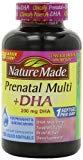Nature Made Prenatal   DHA 200 mg Multivitamin Softgels 150 Ct