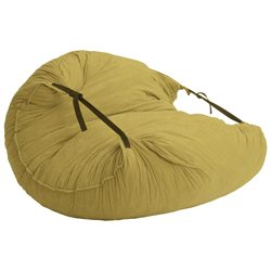 Comfort Suede Sand Dune Relax Lounger