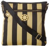 Sydney Love Across The Body Cross Body,Black/Gold,One Size