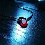 Devil May Cry V DMC 5 Red Gem Ruby Necklace Pendant
