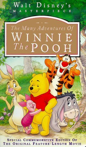 The Many Adventures of Winnie the Pooh (Walt Disney's Masterpiece) [VHS]