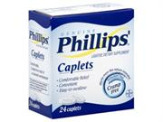 Phillips Laxative, Caplets, 24 Ct.