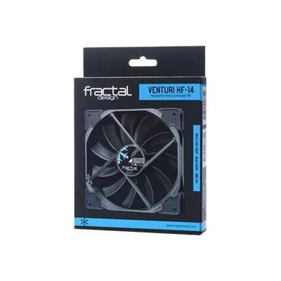 Metacreations Fd-fan-vent-hf14-bk Venturi Series - Case Fan - 140 Mm - Black
