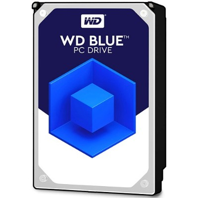 Wd Wd5000azlx Blue 500gb 32mb Cache 7200rpm Sata 6gb/s 3.5 Pc Desktop Hard Drive