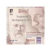 Brahms: Symphony No 1; Alto Rhapsody