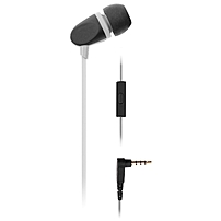 Ecko Unltd. Pinch Earbuds (white) - Stereo - White - Mini-phone - Wired - 16 Ohm - 20 Hz - 20 Khz - Earbud - Binaural - In-ear - 3.94 Ft Cable Eku-pch-wht