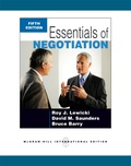 Essentials of Negotiation, 5e is a condensed version of the main text, Negotiation, Sixth Edition
