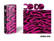 Designer Decal For Eleaf Istick 20w Vape - Zebra