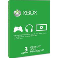 Xbox Live 3 month Gold Membership Card (Xbox 360   Xbox ONE)