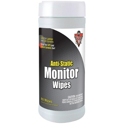 Falcon Safety Products Dsct Monitor Wipes - 80ct