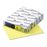 Fore Mp Recycled Copy/laser/inkjet Paper, Canary, 20lb, Letter, 500 Sheets
