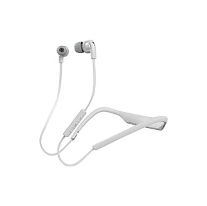 Skullcandy Smokin Buds 2 Earset - Stereo - Chrome, White - Wireless - Bluetooth - 17 Ohm - Earbud, Behind-the-neck - Binaural - In-ear