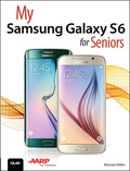 The perfect book to help anyone 50  learn the Samsung Galaxy S6 — in full color! My Samsung Galaxy S6 for Seniors helps you quickly and easily get started with the new smartphone and use its features to look up information and perform day-to-day activities from anywhere, any time
