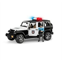 Bruder Jeep Wrangler Unlimited Rubicon Police Car With Policeman By Bruder
