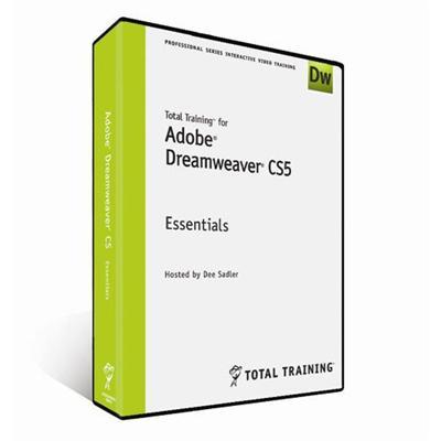 for Adobe Dreamweaver CS5 - Essentials - self-training course