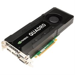 PNY Quadro K5000 Graphic Card - 4 GB DDR5 SDRAM - PCI Express 3.0 - 4096 x 2160 - SLI - Fan Cooler - DirectX 11.0, OpenGL 4.3, OpenGL - DisplayPort - DVI