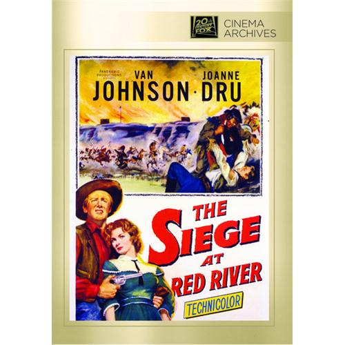 Siege At Red River, The Dvd Movie 1954