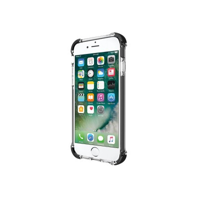 Incipio Iph-1470-cbk Reprieve [sport] Protective Case With Reinforced Corners For Iphone 7 - Clear/black
