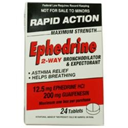 Rapid Action Ephedrine Rapid Action Ephedrine 12.5 mg