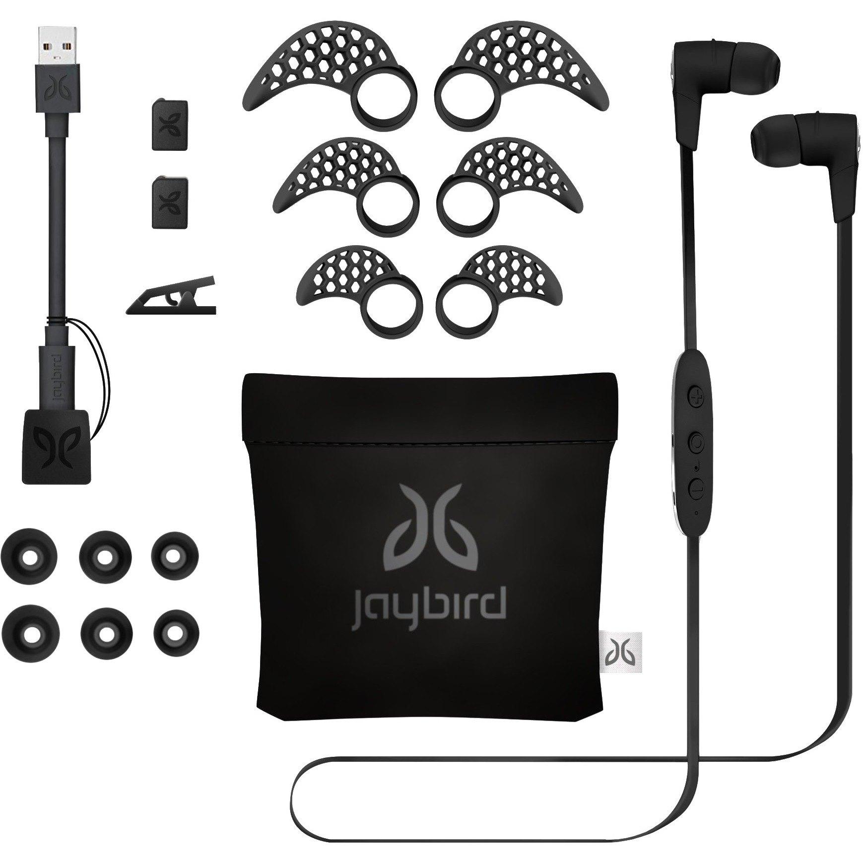 Jaybird 4T8841 X3 Sport Bluetooth Headphones - Blackout Black
