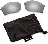 Oakley Flak Jacket XLJ Replacement Lenses,Black Iridium,one size
