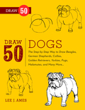 Old English sheep dogs, German Shepherds andMalamutes are just a few of the fun-loving, furrybreeds that anyone can create by following thesesketches