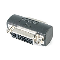 Startech.com Dvi-i Coupler / Gender Changer - F/f - 1 X Dvi-i Female Video - 1 X Dvi-i Female Video - Black Gcdviiff