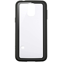 Belkin Air Protect Grip Vue Protective Case For Galaxy S5 - Smartphone - Clear/black - Tint - Polycarbonate F8m915b1c04