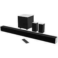 Vizio 5.1 Sound Bar Speaker - Table Mountable, Wall Mountable - Wireless Speaker(s) - 60 Hz - 19 Khz - Dolby Digital, Dts Circle Surround, Dts Studio Sound, Dts Truvolume, Dts Digital Surround, Dts Trusurround - Bluetooth - Usb - No - Wireless Audio Strea Sb3851-c0