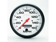 "Auto Meter Phantom In-Dash Electric Speedometer Features: Red Pointer For Quick Glance Monitoring    Safeguard Against Dangerous Conditions    Precision Movement And Extreme Accuracy    1 Year Limited Warranty Height: 6.00"" Width: 6.00"" Length: 6.00"" Weight: 2.00 lbs"