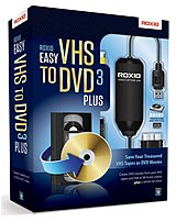 Roxio 251000 Vhs-dvd V.3 Plus For Pc - Complete Package - 1 User