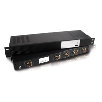 4-Output S-Video   Composite Video   Stereo Audio Distribution Amplifier - video/audio splitter - 4 ports - rack-mountable