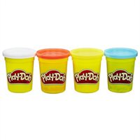 Play-doh 4-pack Of Classic Colours  By Play-doh