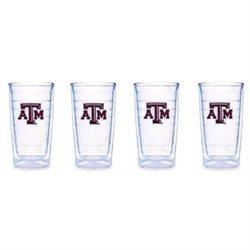 Tervis Tumbler Texas A&M University, 16-Ounce, Set of 4