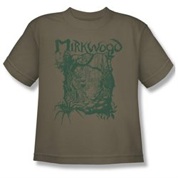 Youth(8-12yrs) HOBBIT Short Sleeve MIRKWOOD LINE XLarge T-Shirt Tee
