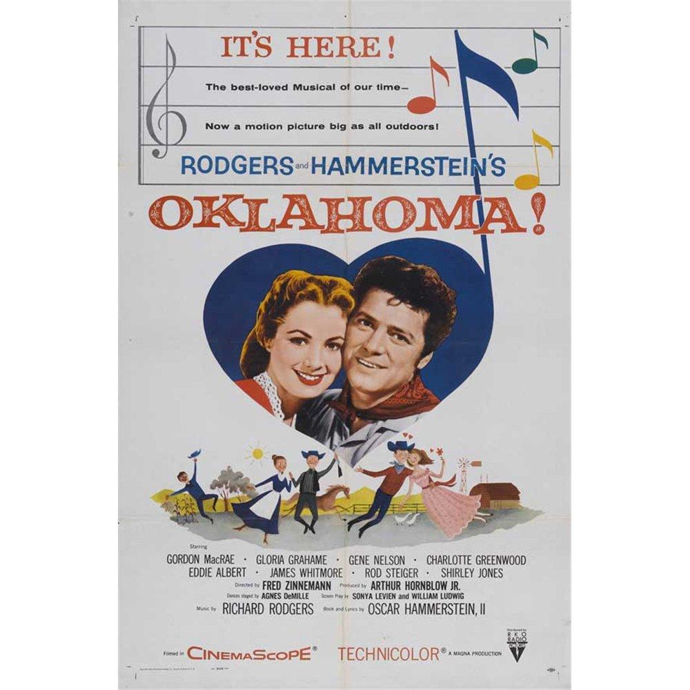 Oklahoma Poster Movie C 27 x 40 In - 69cm x 102cm Gordon MacRae Shirley Jones Rod Steiger Gloria Grahame Eddie Albert Charlotte Greenwood