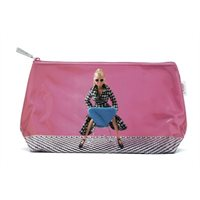 Doll On Chair Wash Bag  By Catseye