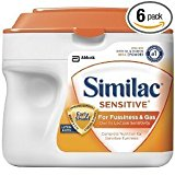 Similac Sensitive Infant Formula w/Iron 1.45 LB (case of 6)