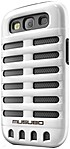 Smart It Musubo Retro Case For Samsung Galaxy S3 - Smartphone - White - Polycarbonate, Silicone Mu11015we