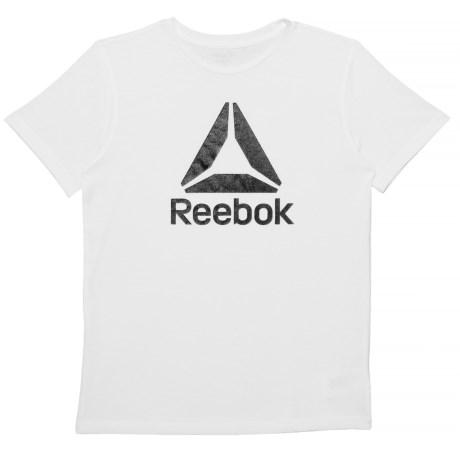 Big Logo White T-shirt - Short Sleeve (for Big Boys)