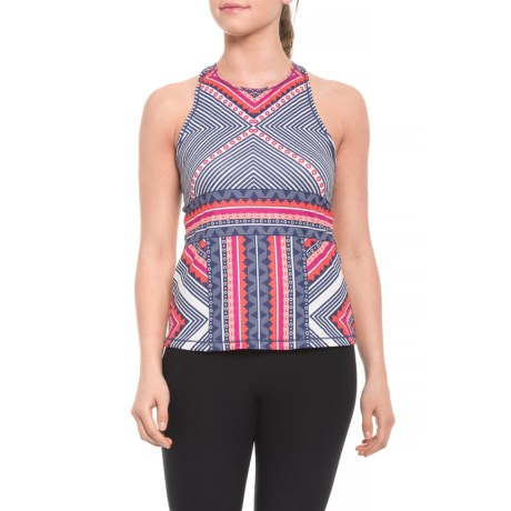 Boost Printed Shirt - Sleeveless (for Women)