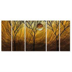 Megan Duncanson 'Golden Highlights' Wall Decor