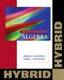 Beginning Algebra:  Hybrid (with Enhanced Web-assign With Ebook For One Term Math And Science)