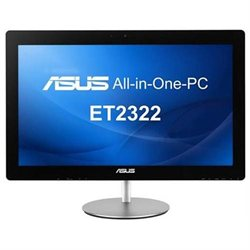 Asus ET2322INTH-04 All-in-One Computer - Intel Core i7 - Desktop - Black Silver - 16 GB RAM - 1 TB H