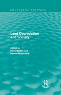 Why does land management so often fail to prevent soil erosion, deforestation, salination and flooding? How serious are these problems, and for whom? This book, first published in 1987, sets out to answer these questions, which are still some of the most crucial issues in development today, using an approach called 'regional political ecology'