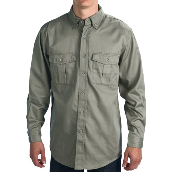Walls Workwear Vented Cape Back Shirt - Long Sleeve (For Men)