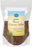 Viva Labs Organic Cacao Nibs: Raw, Unsweetened and Non-GMO, 1lb Bag